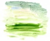 Green Acrylics Texture — Стоковое фото