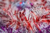 Colorful Tinsel — Stock Photo