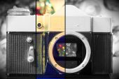 Grunge Old Camera  — Stok fotoğraf