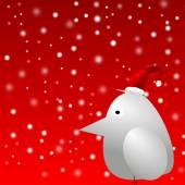 Christmas Bird — Stock Photo