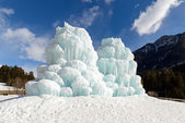 Ice towers — Stock Photo