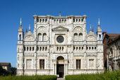 Church of Certosa di Pavia — Stock Photo