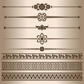 Decorative lines. — Vector de stock