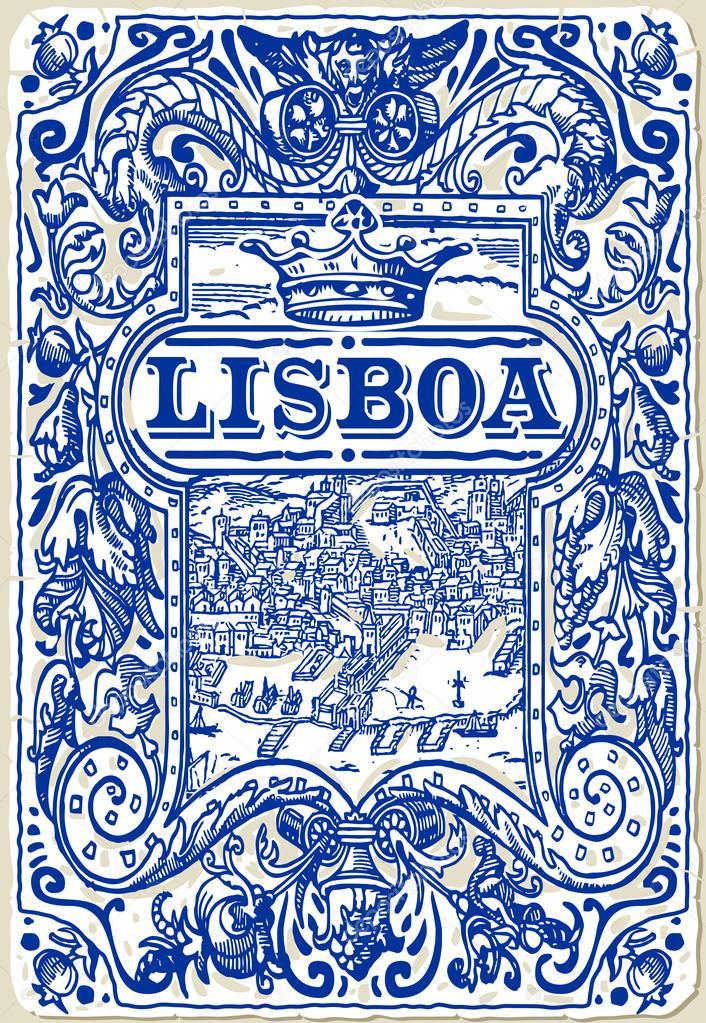Traditionelle kacheln azulejos lisboa portugal for Azulejos de portugal