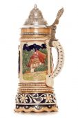 Musical german beer stein — Stockfoto