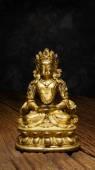 Alten Quan Yin - buddhistische Göttin der Barmherzigkeit — Stockfoto