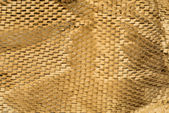 Closeup of brown paper packaging — Stock Photo