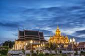 Palacio de Metal Ispaat Prasat Wat ratchanadda — Foto de Stock