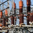 Постер, плакат: Electrical system of the power plant to produce electricity