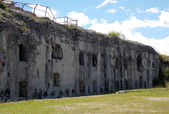 Fort Sommo used from the austro Hungarian army during First Worl — Stock Photo