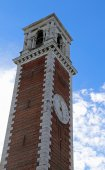 Bell Tower of Basilica di Monte Berico in Vicenza in Italy — Stock Photo