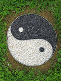TAO symbol representing good and evil in many cultures — Stock fotografie