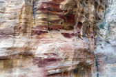 Abstract rock formation in the desert — Stock Photo
