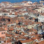Views of Venice ITALY from St Mark's Campanile — Stock Photo #64601023
