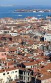 Views of Venice ITALY from St Mark's Campanile — Stock Photo