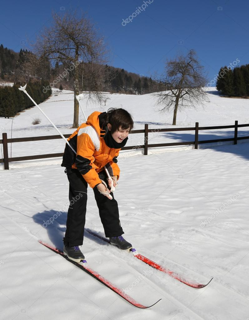 Лыжные гонки время
