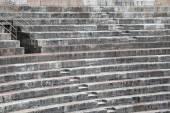 Ancient Roman STEPS in the Arena di Verona in Italy — Stockfoto