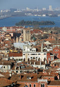 Houses and buildings in the VENICE City in Italy — Stock Photo