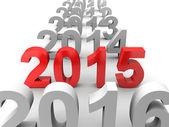 Neujahr 2015 — Stockfoto