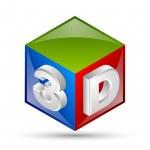 3D cube — Stock Vector #56406519