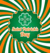 St. patrick's Day-Abzeichen — Vecteur