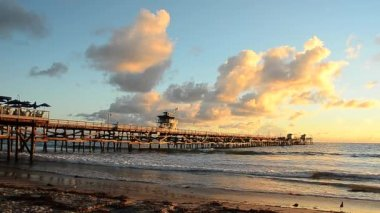 Tramonto di San clemente — Video Stock