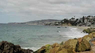 Ocean Waves at Laguna Beach — Stock Video