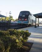 Commuter trein. — Stockfoto