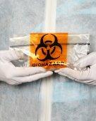 Biohazard Technician — Stock Photo