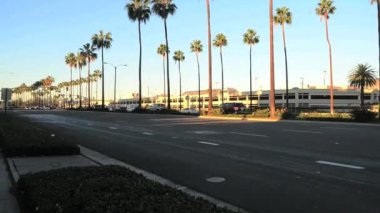 Traffic in Southern California — Stok video