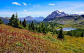 风景的班夫国家公园,加拿大山区 — 图库照片
