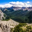 Panoramic view of Rocky mountains range, Alberta, Canada — ストック写真 #54762151