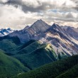 Scenic view of Rocky mountains range, Alberta, Canada — Foto de Stock   #63716195