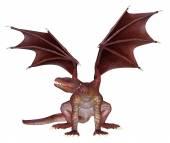 Dragão vermelho 01 — Fotografia Stock