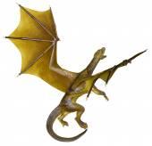 Yellow dragon — Stockfoto