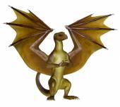 Yellow Dragon — Stock Photo
