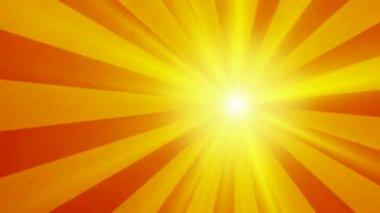 Retro sun vintage background — Stock Video