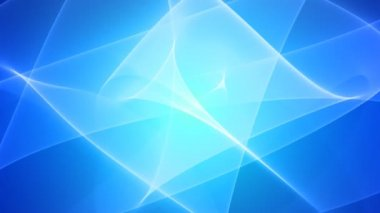 Elegant Blue Wavy Looped Background — Stock Video