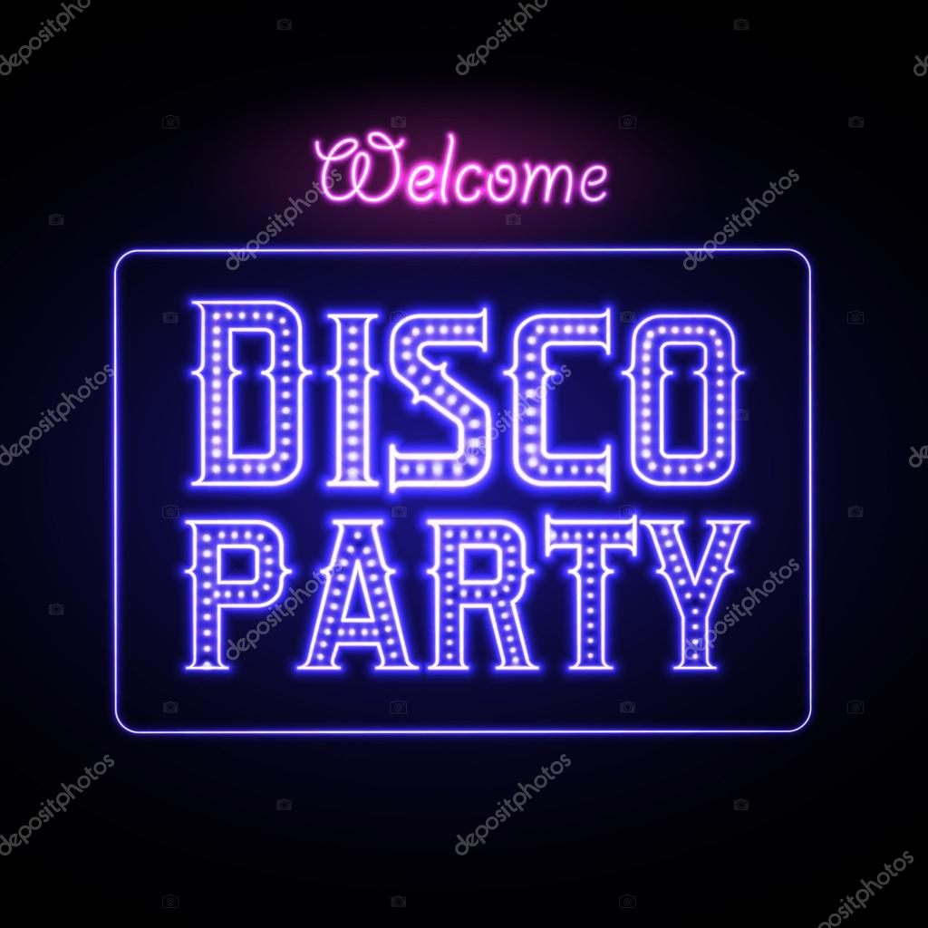 Leuchtreklame Nightclub Disco Party — Stockvektor #57002375. Pluto Signs. Loading Signs. Spot On Signs Of Stroke. Attorney Signs Of Stroke. Falling Apart Signs Of Stroke. Tips Signs. Rhombus Signs. Detour Signs Of Stroke