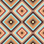Ethnic geometric ornament. pattern background — Stock Vector