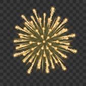 Vector holiday firework — Stock Vector
