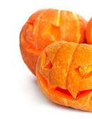 Halloween pompoenen — Stockfoto