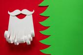 Santa Claus conceptual background — Stockfoto
