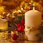 Christmas candle — Stock Photo #59231669