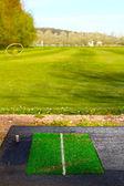 Campo de golfe — Foto Stock