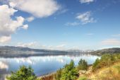 Fjord and mountains — Stock Photo