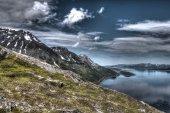 Paesaggio del nord della norvegia — Foto Stock