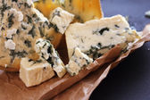 Roquefort cheese composition — Stock Photo