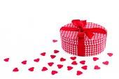 Valentines day gift — Stock Photo