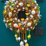 Easter egg wreath — Stock Photo #66299873